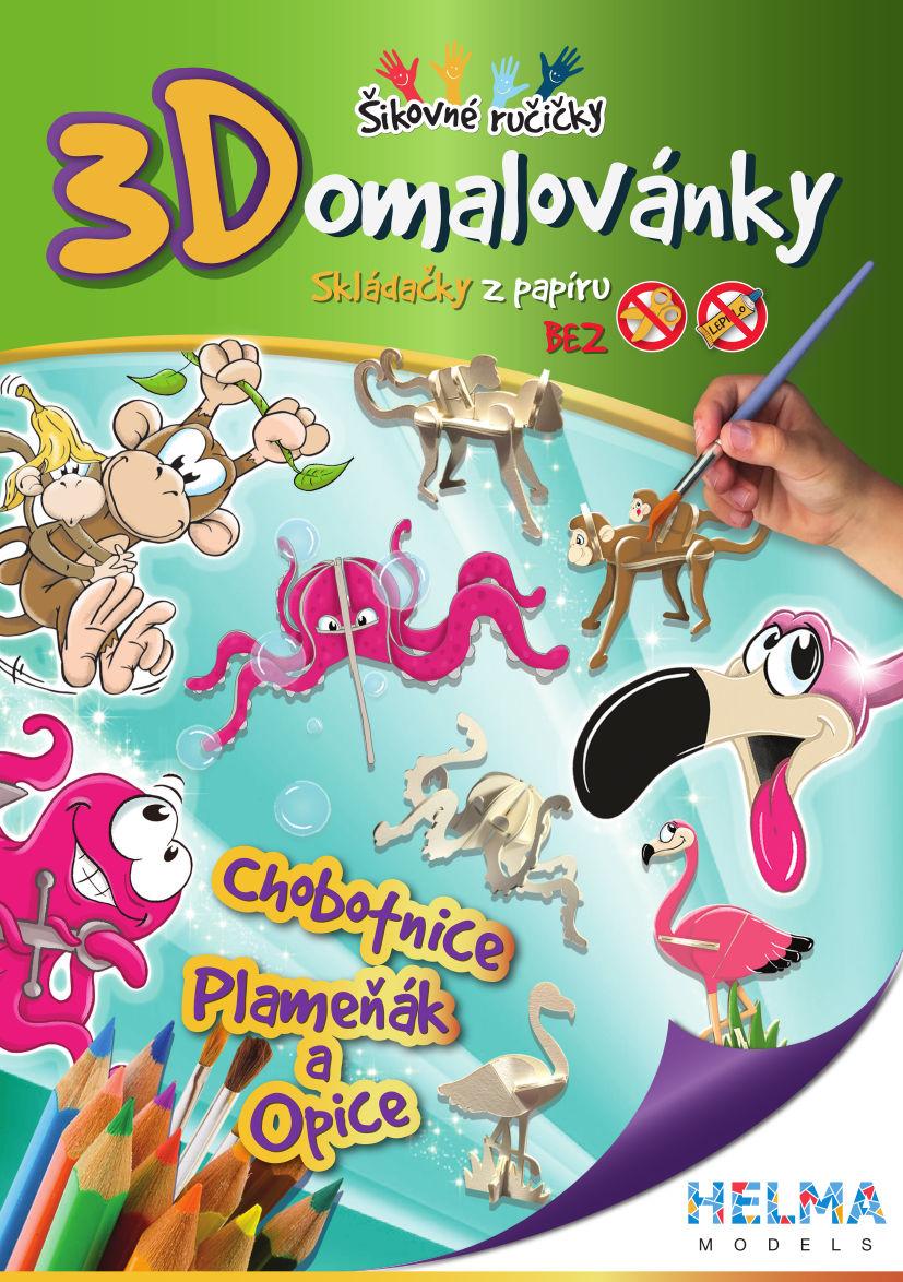 Chobotnice, Plameňák a Opice