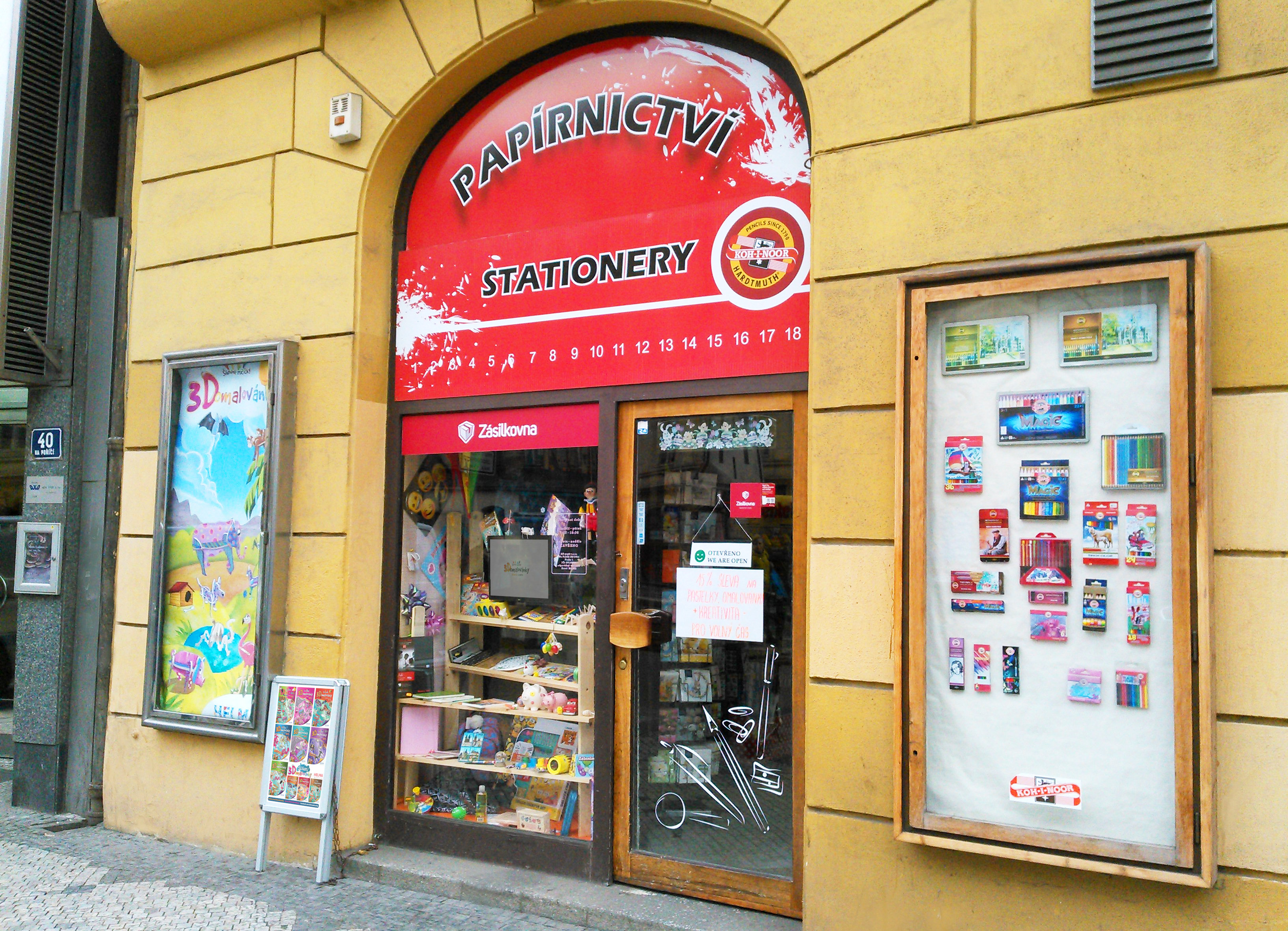 Praha, Na Poříčí