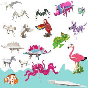 3Domalovánky - zvířata